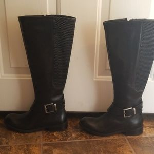 2 LEFT FOOT CLARK LEATHER BOOTS NEW